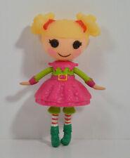 "3"" Holly Sleighbells Santa Christmas Elf Mini Figure Doll Lalaloopsy Nick Jr"