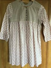 Ladies beautiful April Cornell, Indian inspired tunic in pink and gold. Size S/M
