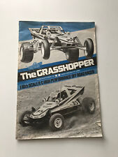 Original Tamiya RC Instruction Manual - The Grasshopper 58043 1984 !RARE!