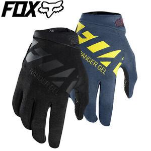 Fox Ranger Gel MTB Gloves 2018 - Black, Midnight Blue - Size XXL