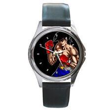 Anime best boxer Ashita no Joe leather watch