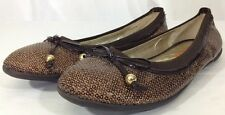 Michael Kors Ballerina Flats Slippers Women's Size 4 Comfort EUC Casual Shoes