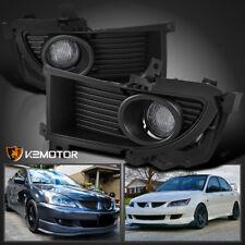 2004-2005 Mitsubishi Lancer Clear Bumper Driving Fog Lights+Switch