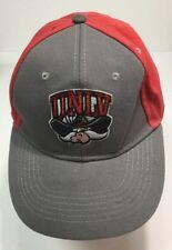 on sale 7d053 3a290 UNLV Baseball Hat Strapback Vtg 1990s Runnin Rebel Mascot Las Vegas Toyota