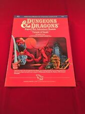 X5 TEMPLE OF DEATH 9069 1983 Module TSR AD&D Dungeons & Dragons by David Cook