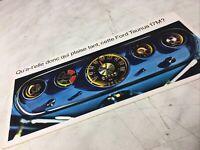 Ford Taunus 17M berline coupé break catalogue prospectus brochure publicité