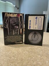 Friday the 13th 1980 Paramount BETAMAX First Edition GATEFOLD Beta RARE -NOT VHS