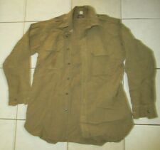 Original 1945 Dated Us Army Officers Wool Shirt 15 X 32-1/2