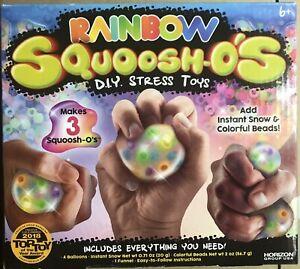 Rainbow Squoosh-O's D.I.Y. Stress Toys 2018 Top Toy Award Crafts Horizon Science