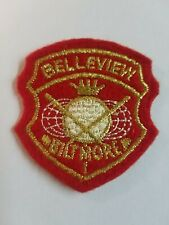 Vintage BELLEVIEW BILTMORE Golf Club Patch O94S