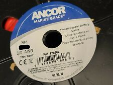 Ancor #3/0awg #000awg Marine Grade Tinned Copper Boat Cable BC-5W2 Red /1ft