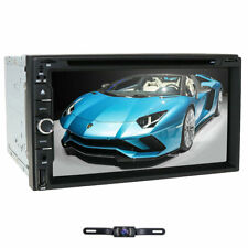 7 Inch Car Stereo CD DVD Player SAT GPS Navigation Radio Touch Screen Double Din