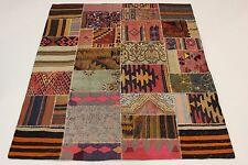 nomades Kelim patchwork look antique PERSAN TAPIS tapis d'Orient 2,12 X 1,92