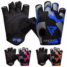 Rdx перчатки для тяжелой атлетики тренировки тренажерный зал Бодибилдинг фитнес тренировки Велоспорт F6