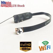 Mini Hd 1080p Wifi wireless Ip Diy spy hidden screw camera Dvr video recorder