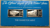 The Official Ingots of the United States, Illinois and Alabama, Silver Bar