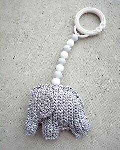 Crochet Animal Baby Toy Handmade In Finland Baby Equipment