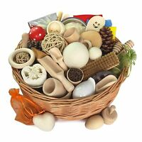Treasure Basket - Ultimate Extra Large - Montessori Educational Toy - EYFS