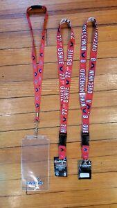 Lot of 3 Washington Capitals NHL Lanyards - (Ovechkin & Oshie NWT) & Used Ticket