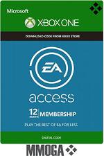 EA Access - Suscripción de 12 meses Xbox One código digital envío en línea - ES
