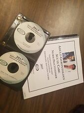 2017 Barkley Adult-Gero ACUTE CARE Nurse Practitioner Review Book + 12 CDs NEW