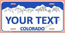 COLORADO VANITY LICENSE PLATE, PERSONALIZED,   Made in USA