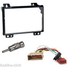 Ford Fiesta 2002 - 2005 Negro Doble Din Panel Facia del paquete Kit