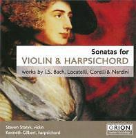 Sonatas For Violin+Harpsichord