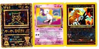 LOT 3 Cartes PROMO POKEMON MEW + ANCIENT MEW + ENTEI HOLO (Votre CHOIX)