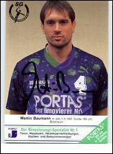 Wallau-Massenheim Autogrammkarte Handball Handsigniert 1992 MARTIN BAUMANN Orig.