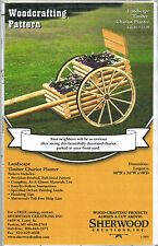 Timber Chariot Planter Woodworking Plans by Sherwood Creations