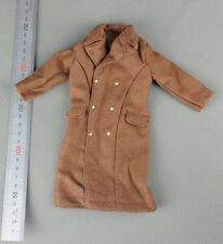 Dragon WWII US Army Brown Overcoat 1/6