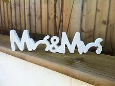Shabby Chic Mr & Mrs & Mme SIGNE Cadeau Mariage Présents for Lesbian mariage gay 2