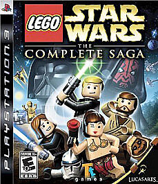 LEGO Star Wars Complete Saga PS3 Complete, Tested,