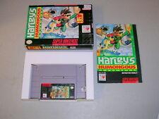 HARLEY'S HUMONGOUS ADVENTURE (Super NES SNES) Complete CIB