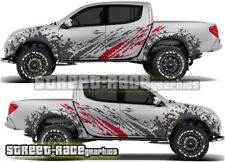 Mitsubishi L200 038 rally raid stickers decals graphics race motorsport