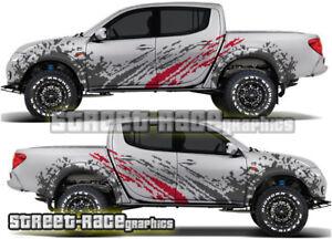 Mitsubishi L200 038 rally raid stickers decals graphics race motorsport