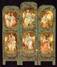1:12 scale Natasha Beshenkovsky's Mini Decoupage- LTD EDT Rococo-Gallant-Screen