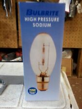 10 High Pressure Sodium Lamps Mogol Base, 70 Watt S62 Free Shipping Nib