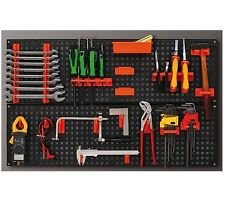 Wall Plastic Bin Kit Garage Storage Parts Bins Workshop Organiser Tool Board