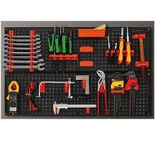 Muro IN PLASTICA CONTENITORE KIT il garage PEZZI CONTENITORI Workshop Organizzatore strumento Board