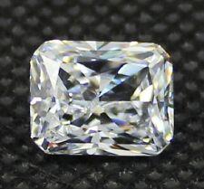Radiant Brilliant 9 x 7 mm 3.8 ct VVS D White Lab Diamond Perfect Solitaire Gem