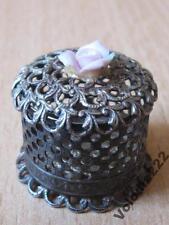 Casket. 800 Vintage Elegant Box Silver