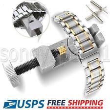 Repair Kit Adjustable Set Pins Tool Metal Watch Band Strap Bracelet Link Remover