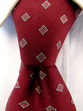 Men's Guy Laroche Red Silk Tie A23143