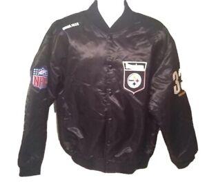 VTG NFL Originals Pittsburgh Steelers Circa. 1933 Nylon Sateen Jacket Men's Sz L