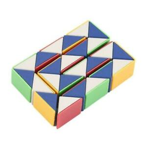 Snake Magic Cube Game Puzzle Twist Education Toy Party Travel Home Kids Gift