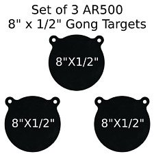 "AR500 Groundhog Steel Target 12""X 4""X 1//2"""