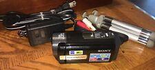Sony Handyman DCR-SX85 Digital Camcorder 2000x Carl Zeiss 70x Extended Zoom