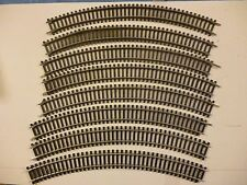 Hornby Steel Track R605 1st radius double curve x8